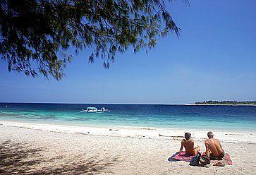 Spiaggia a Bali.