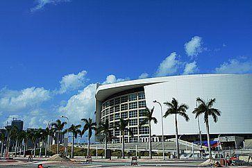 American Airlines Arena a Miami.