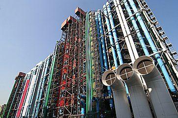 Il centro culturale Pompidou.
