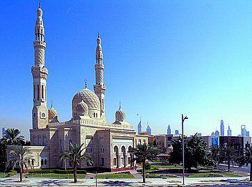 La Moschea Jumeirah aDubai.