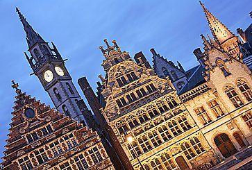 L'architettura storica di Gand.
