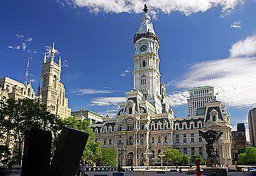 Il Municipio storico di Philly.