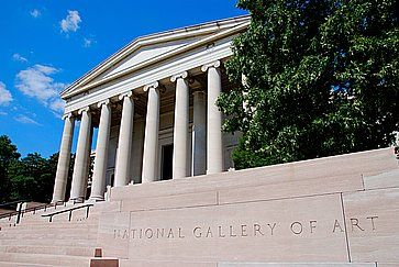 La National Gallery of Art.