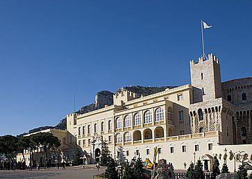 Una vista del Palazzo del Principe di Montecarlo.