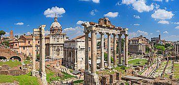 I Fori Imperiali, a Roma.
