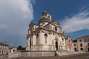 Il Santuario di Nostra Signora di Monte Berico a Vicenza.