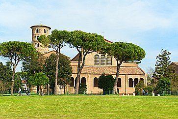 Basilica di Sant'Apollinare in Classe, in provincia di Ravenna.