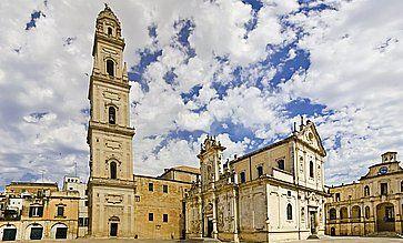 Basilica di Santa Croce Santa a Lecce.
