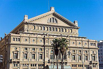 Il famoso Teatro Colon di Buenos Aires.