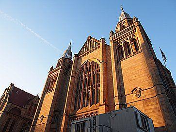 Una chiesa all'Università di Manchester.