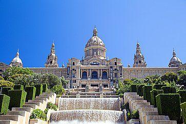 Museo Nazionale d'Arte della Catalogna - MNAC a Barcellona.