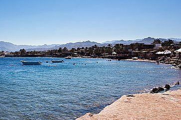 Estate sulla costa a Dahab.
