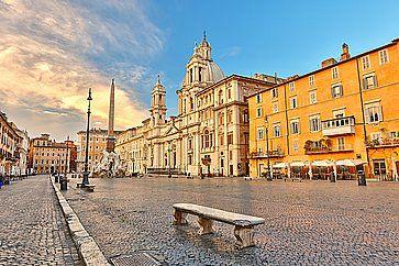 Piazza Navona a Roma.