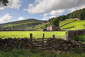 Le colline di Gunnerside, nel Yorkshire Dales National Park.