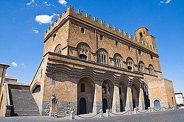 Il Palazzo del Capitano del Popolo ad Orvieto.