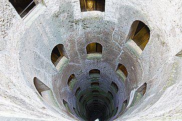 Il pozzo di San Patrizio ad Orvieto.