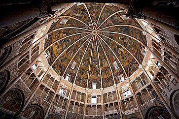 Gli affreschi del Battistero di Parma.