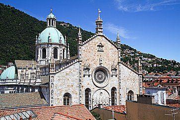 Il Duomo di Como.