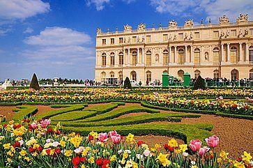 L'ingresso ufficiale ai giardini della Reggia di Versailles.