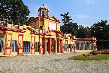 Il Parco Ducale Estense a Modena.