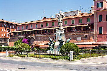Il Monumento dei Quattro Mori a Livorno.