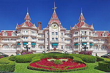 L'ingresso a Disneyland Paris.