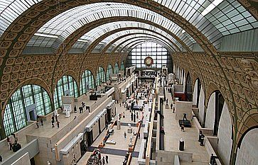 Sala principale del Museo d'Orsay.