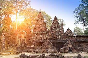 Il tempio di Banteay Srey a Siem Reap.