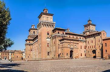 Il castello Estense di Ferrara..