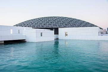 Il museo Louvre Abu Dhabi.