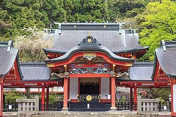 Tempio shintoista a Kirishima.