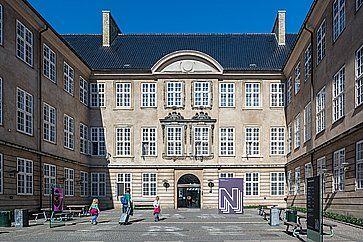 Il Museo Nazionale della Danimarca a Copenhagen.