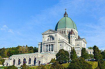 L'Oratorio di St. Joseph di Mount Royal, a Montreal.