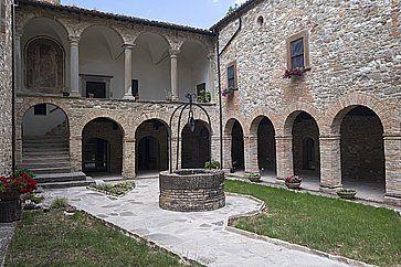 La Pieve di San Giovanni Battista a Carpegna.