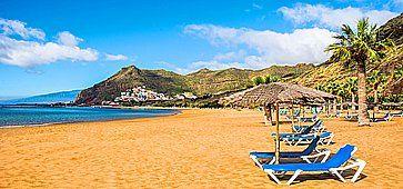 La perfetta Spiaggia las Teresitas.