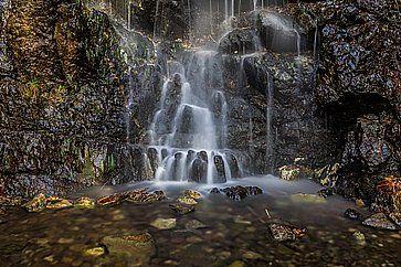 La cascata Caledonia a Cipro.