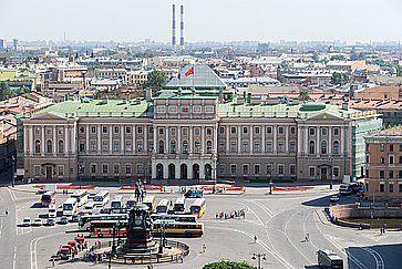 Palazzo imperiale Mariinsky a San Pietroburgo.