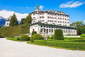 Il castello di Ambras ad Innsbruck.