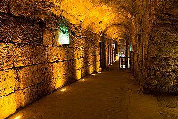 Tour nella Gerusalemme sotterranea.