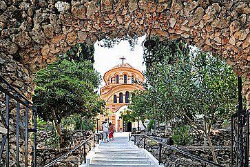Chiesa e Monastero di Agios Nektarios a Rodi.
