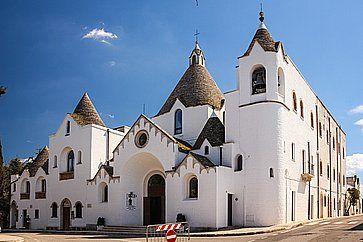 Chiesa Sant`Antonio da Padova ad Alberobello.