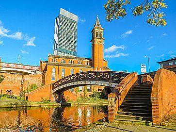 Canali di Castlefield, a Manchester.