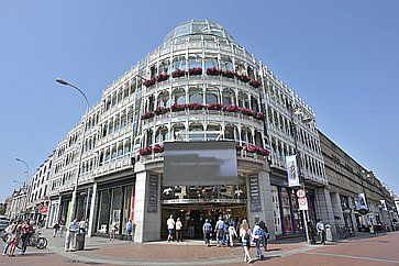 Il centro commerciale Stephen`s Green a Dublino.