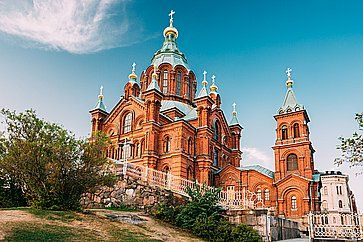 La Cattedrale della Dormizione ad Helsinki.