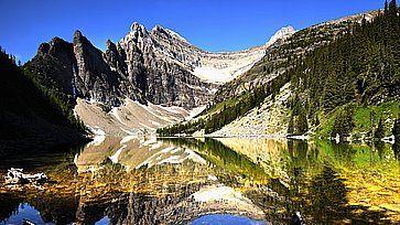 Montagne Rocciose nel Parco Nazionale di Banff, Canada.