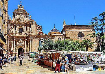 La cattedrale di Valencia.