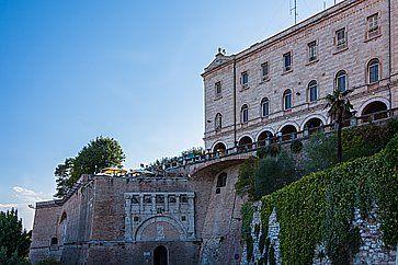 Rocca Paolina e Porta Marzia a Perugia.