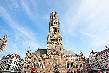 Il campanile di Bruges.