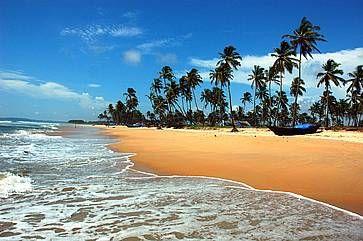 Una delle spiagge di Goa.