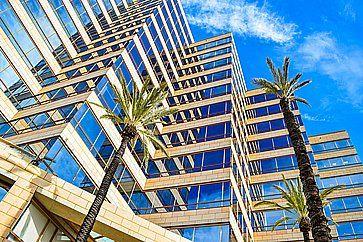 L'edificio dello Studio Warner Bros Los Angeles.